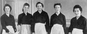 1958 Head office Restaurant 4 Water St Management Waitresses MBM-Sp1958P30