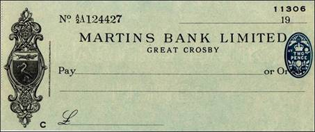 1941 July Great Crosby Cheque - S Walker MBA.jpg