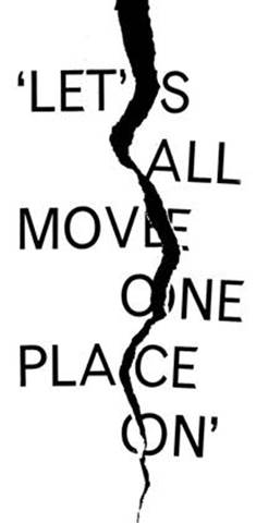 Let's all move one place on