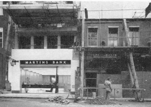 1964 London 6 Hanover Square under construction MBM-Wi64P27.jpg
