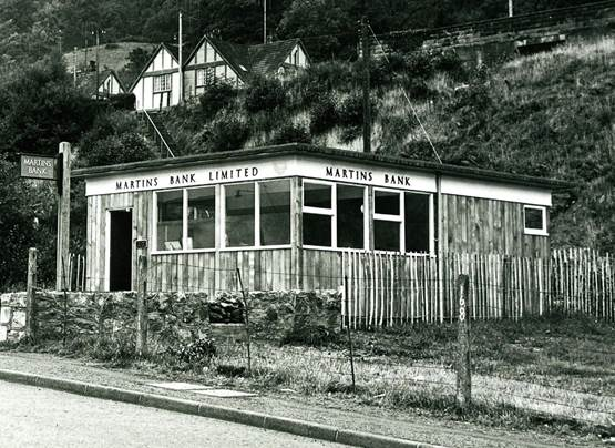 1960 s Dolgarrog male staff at counter BGA Ref 30-833