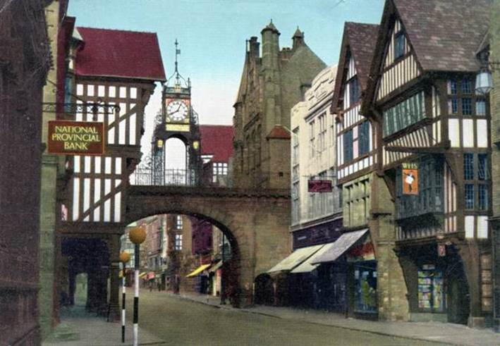 1960 s National Provincial Chester Eastgate.jpg