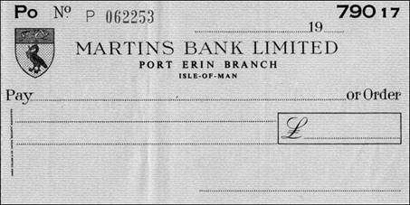 1950 s Port Erin IOM Cheque - S Walker MBA.jpg