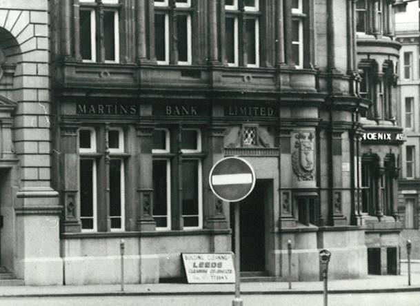 1970 Manchester City Office exterior BGA Ref