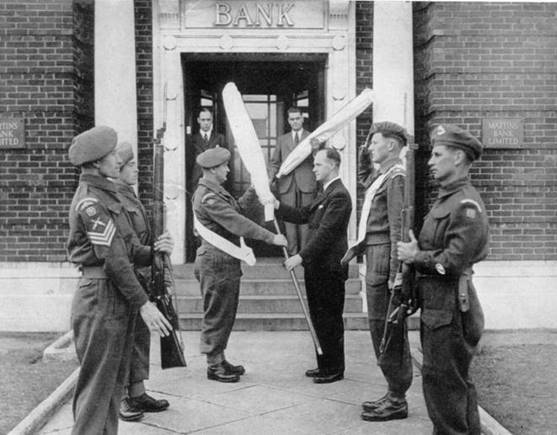 1946 Branch Exterior (1) Withdrawal of the Colours Ceremony MBM-Au46P08.jpg