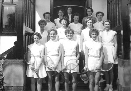 1955 Inter-District Tennis Liverpool and Manchester Boys - Beryl Creer MBA.jpg