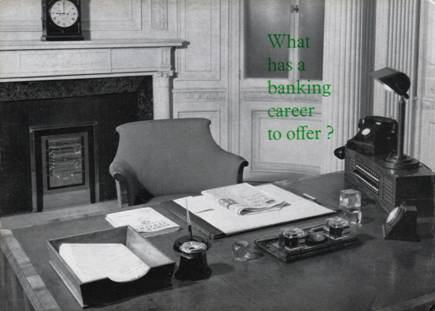 1963 what has a career in banking to offer