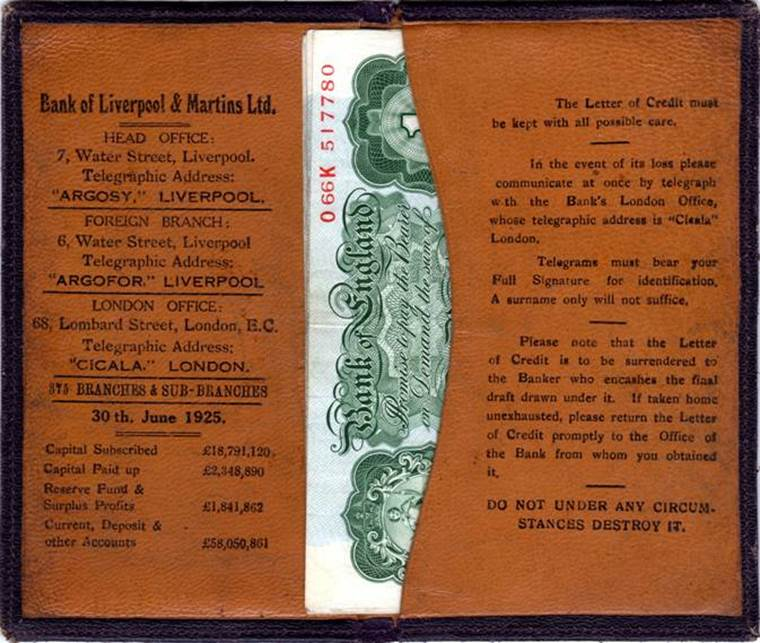 1925 B of L and M Letter of Credit Wallet full.jpg