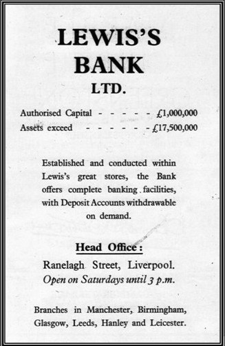1940s Lewis's Bank Ad from Liverpool Guide MBA.jpg