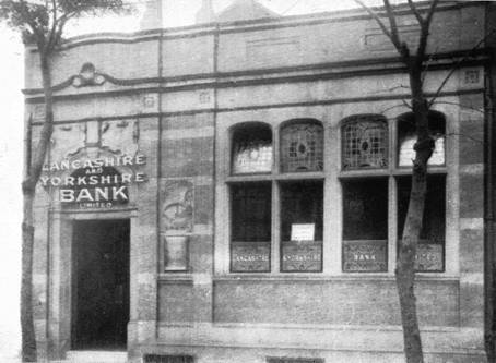 1922 Old Trafford Branch Exterior as L & Y Bank PA
