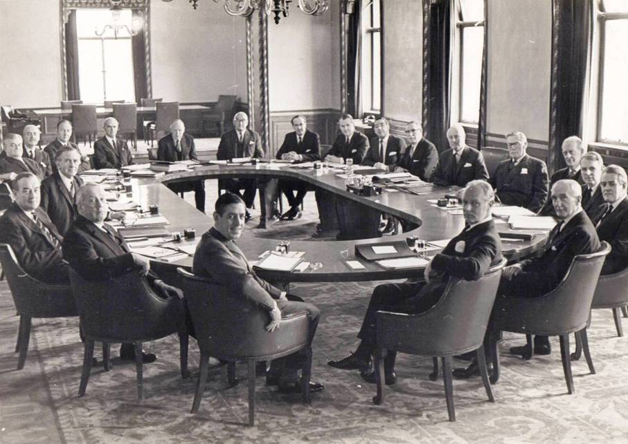 1969 Final Meeting of the General Board  09DEC69
