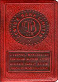 1964 Lewis's Book Shaped Money Box MBA.jpg