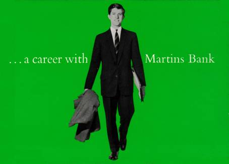 1963 A career at Martins Bank Front Cover MBA