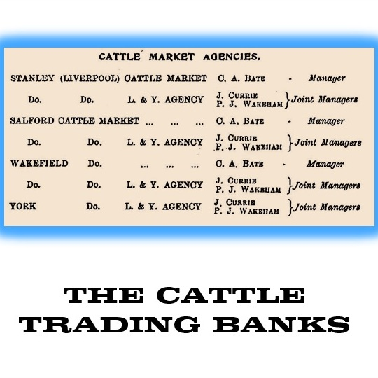 1925 cATTLE tRADING bANKS