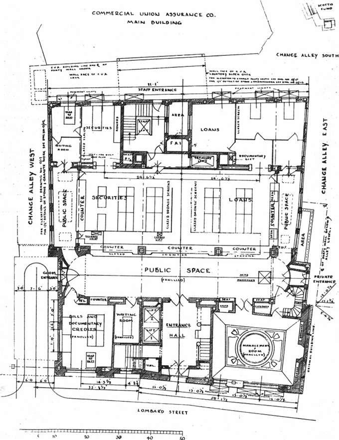 1931 Ground Floor Plan TAJ