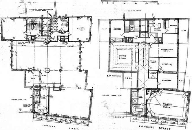 1931 Third and Fourth Floor Plans TAJ