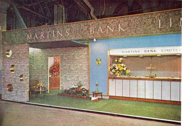 1962 Stand at the Leicester Shoe Machinery & Components Exhibition MBM-Au62P28